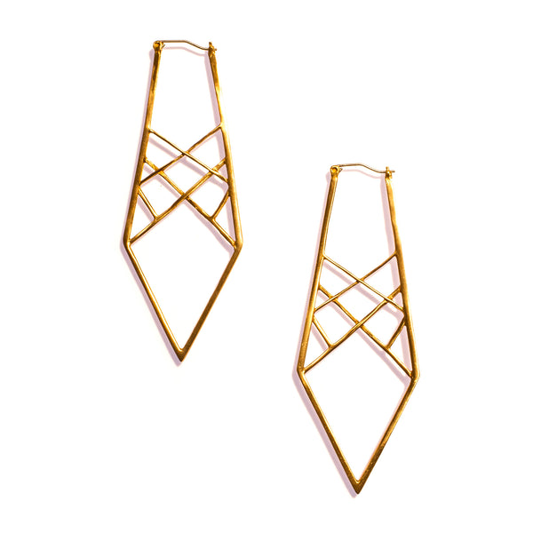 Spectrum Earrings Brass