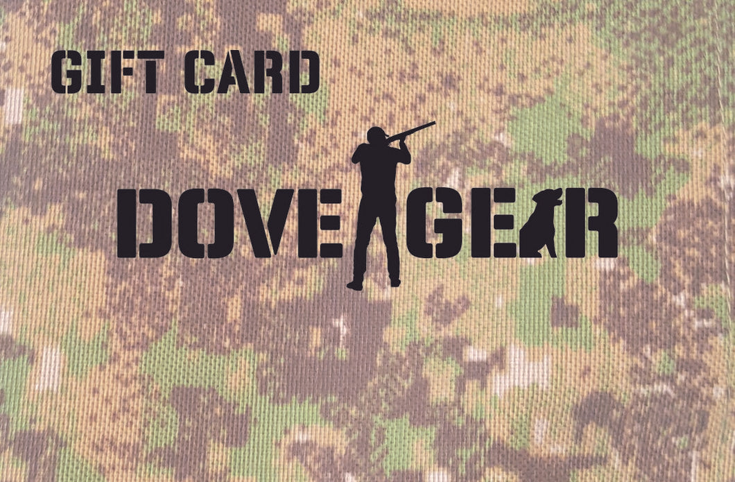 Dove Gear Gift Card