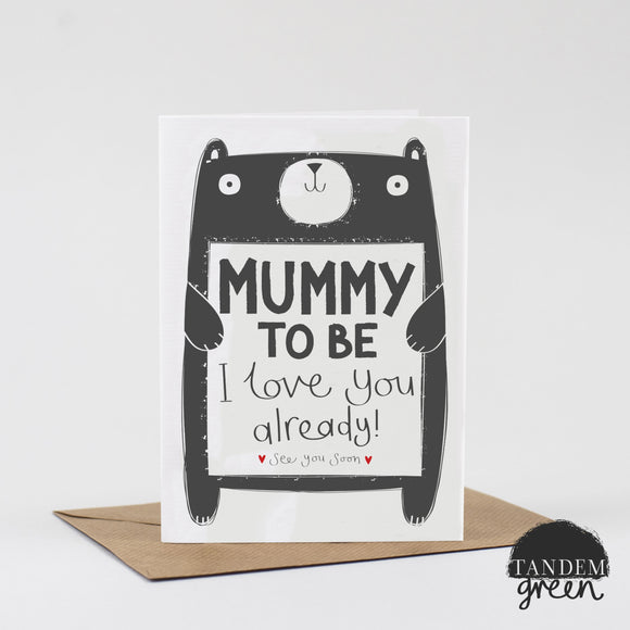 Mummy to be Love Card