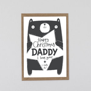 Christmas Card For Daddy