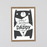 1st Christmas As A Daddy Card