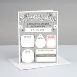 Personalised Wedding Card to Keep