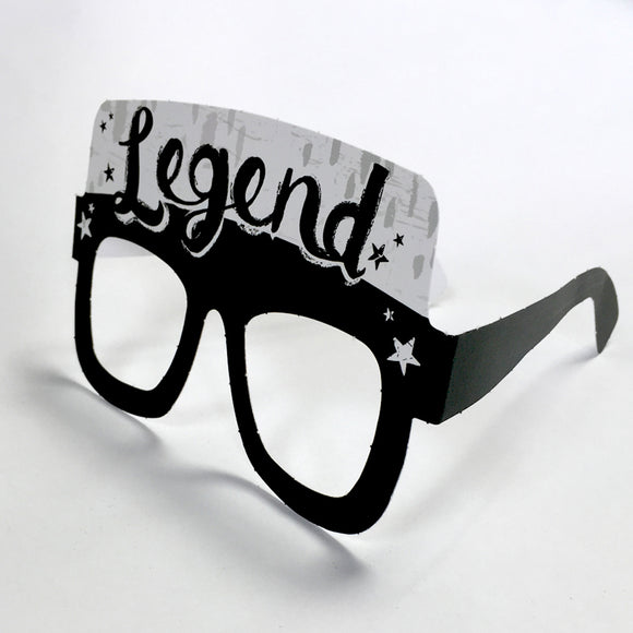 Legend Card Glasses