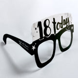 18th Birthday Card Glasses