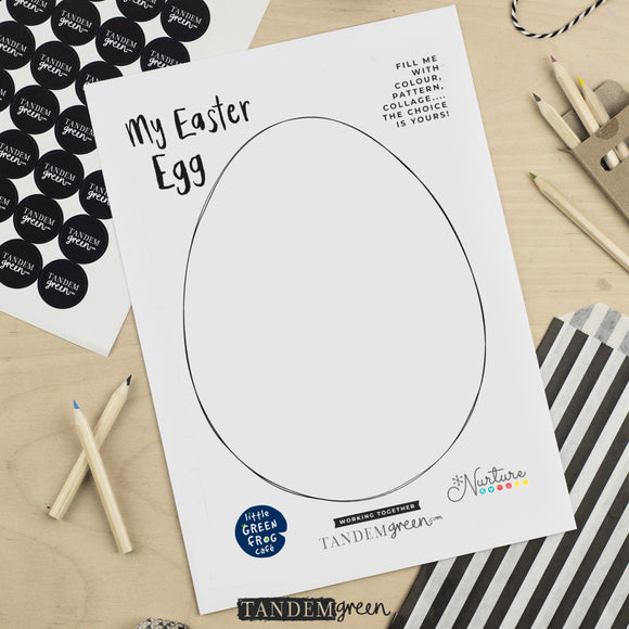 Design an Easter Egg Printable