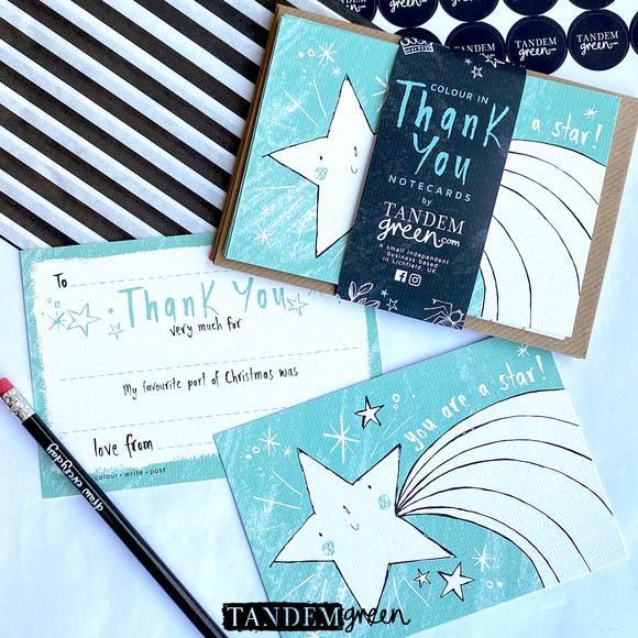 Pack of Christmas Thank you Cards