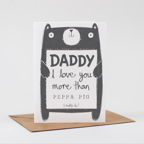 Personalised Daddy Card