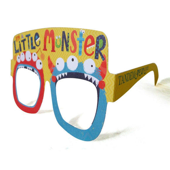 Monster Birthday Card Glasses