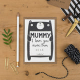 Personalised Mummy or Mum Love Card