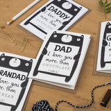 Personalised Dad Father's Day Card