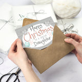 Happy Christmas Card for Daughter