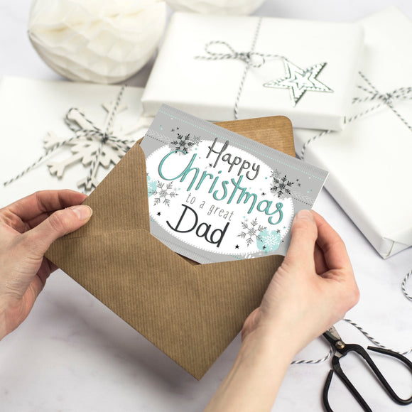 Happy Christmas Card for Dad