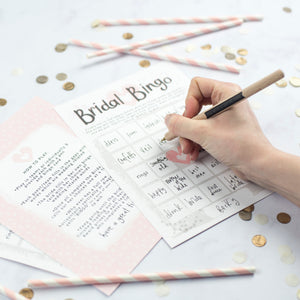 Bridal Bingo Hen Party Game Cards