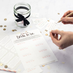 Keepsake Bride To Be Hen Party Game