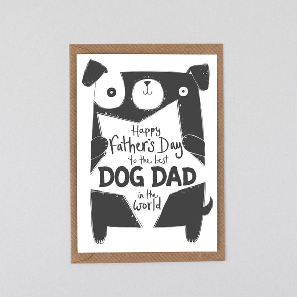 Father's Day Card from the Dog