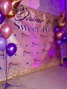 Custom Step And Repeat Banner Backdrop