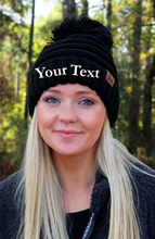 Load image into Gallery viewer, Customized Pom Pom Knit Beanies!