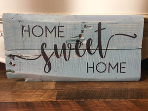 Handcrafted Home Decor Signs and More