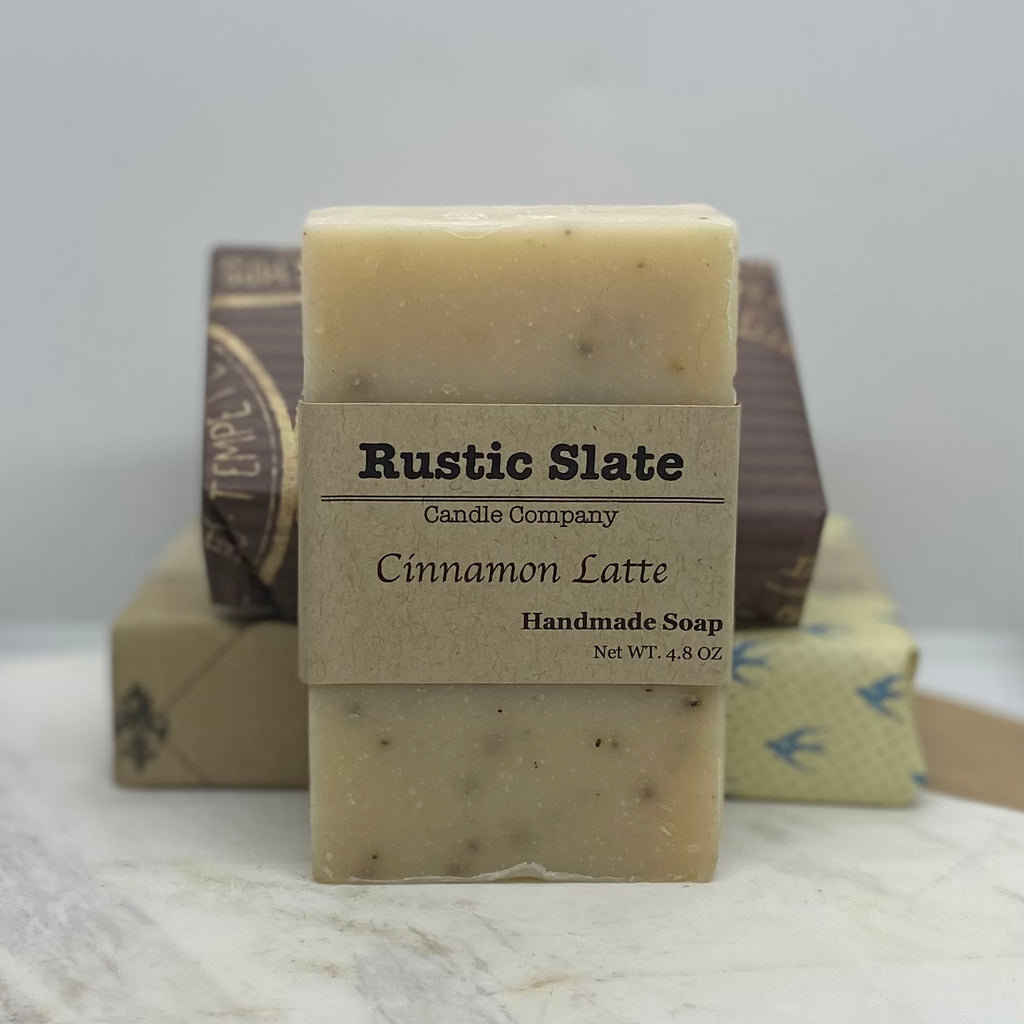 Cinnamon Latte Handmade Soap