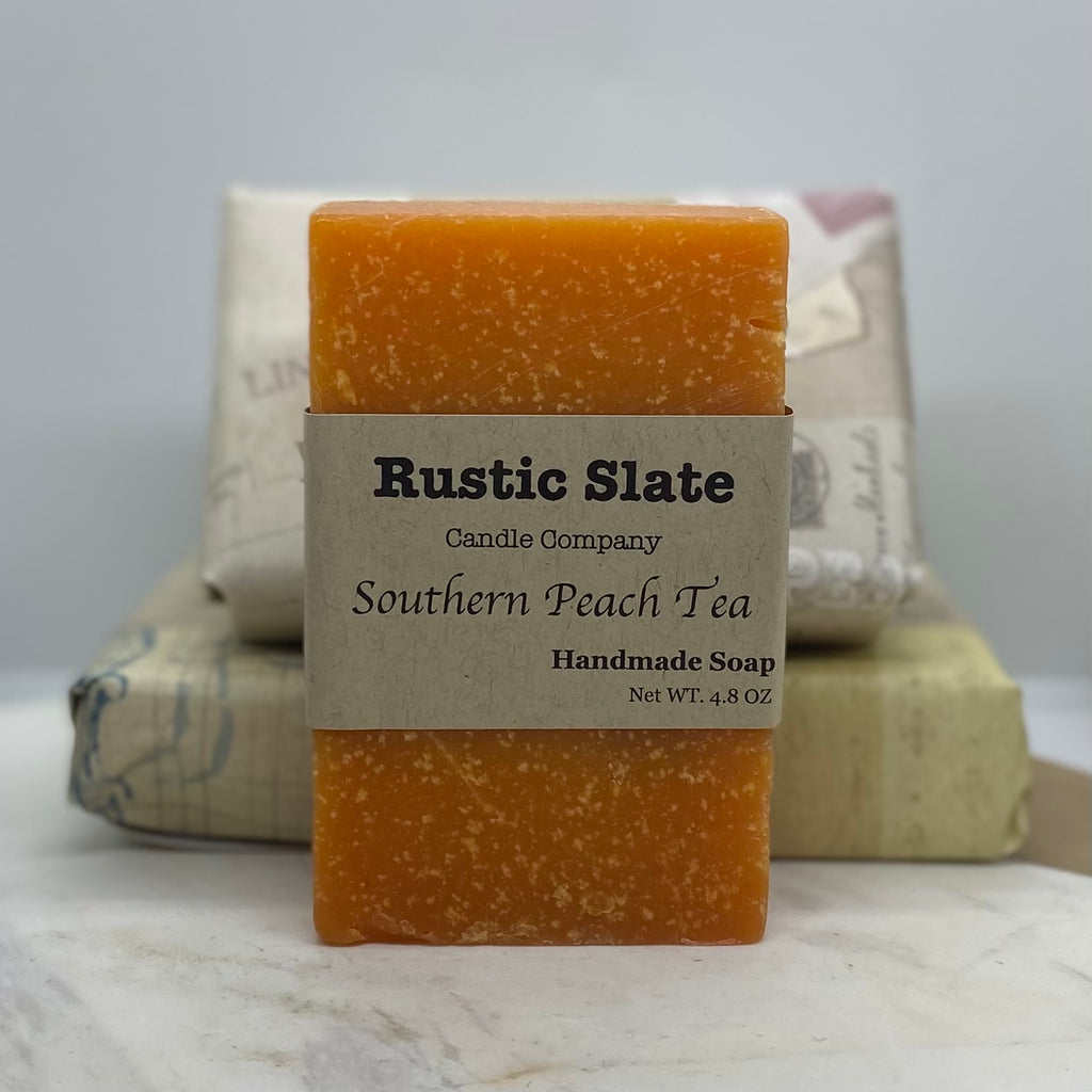 Southern Peach Tea Handmade Soap