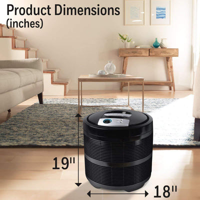 Allergen Remover Air Purifier,Black