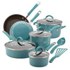 Hard Porcelain Enamel Nonstick Cookware Set