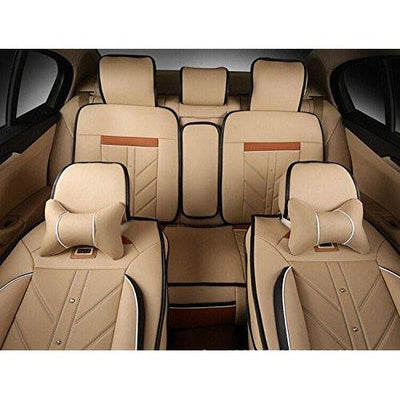 Ice Silk PU Fabric Car Seats Cushion Cover