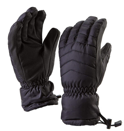 Suede Diamond Embossed Gloves