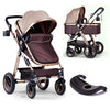 Multi-Features Compact Single Baby Stroller