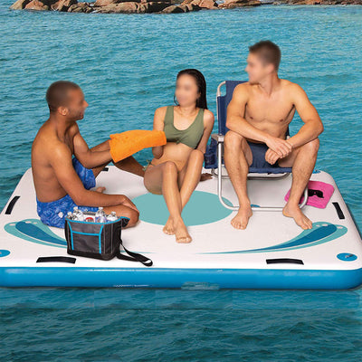 Inflatable Floating Deck Kit