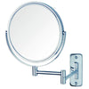 8-Inch Wall Mount Makeup Mirror