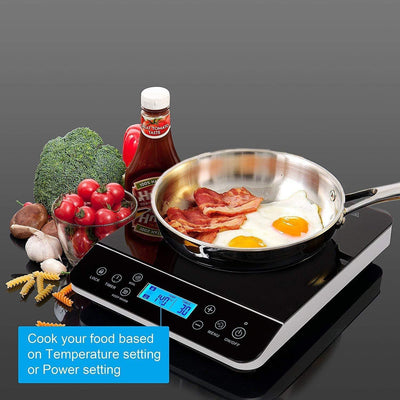 LCD Portable Induction Cooktop
