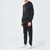 Letter Plain Hooded Polyester Sports Men's Suits