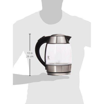 Electric Cordless Glass Tea Kettle