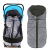Winter Outdoor Waterproof Wearable Stroller Blanket (Grey)