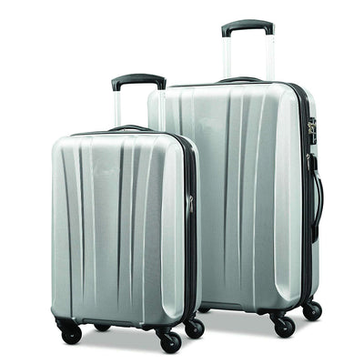 Lightweight cross straps Luggage 2 Piece Set