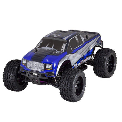 Electric Racing Truck,Blue/Silver