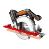 Flush-Mount Blade Circular Saw
