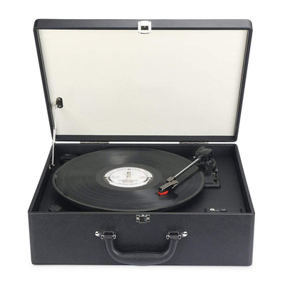 Suit-case Style Turntable With Speaker