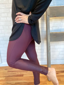 Jack Foil Accent Legging