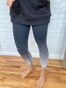 Graduated Stripe Legging