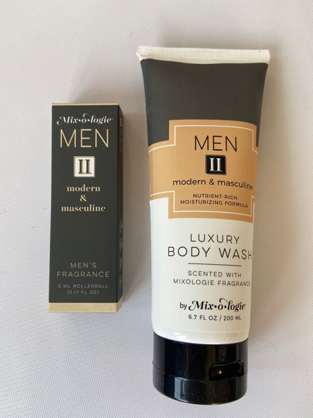 Men's Luxury Body Wash by Mixologie