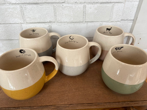 Hand Dipped Mugs