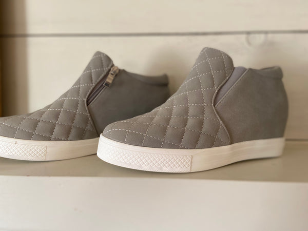 Piper Wedge-Grey