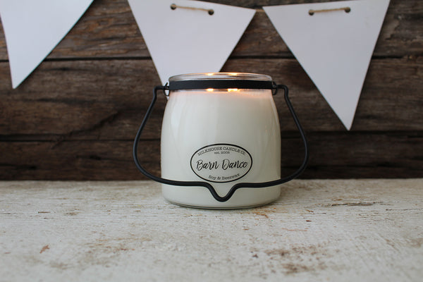 Milkhouse Candle -16 Oz Butter Jar