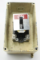 Walsall Junction Box Tumbler Switch 30 Amp D.P. 5A/2583 RAF Vintage Aircraft