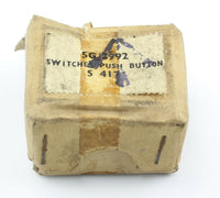 Push Button Switch S417 5G/3992 DEF5000 Bulgin RAF Vintage Aircraft Part