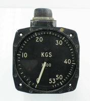 Fuel Contents Gauge Indicator Instrument LK30 Smiths 5300KG RAF Vintage Aircraft