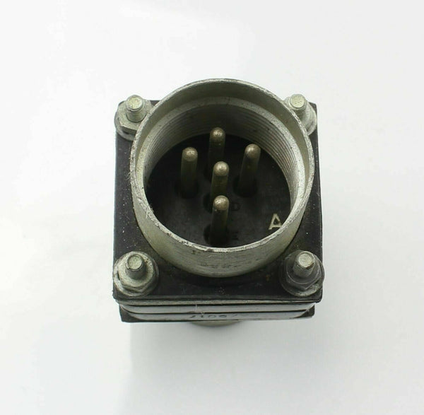 Bulkhead Plug Connector 5 Pin 5X/6017 Royal Air Force Vintage Aircraft Spare