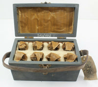 Circuit Testers Box of 8 Type B 24V 5G/310 1956 Wooden RAF Vintage Aircraft Part